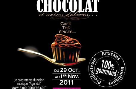 SALON DU CHOCOLAT , TROIS JOURS A CROQUER