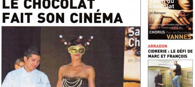 LE CHOCOLAT FAIT SON CINEMA