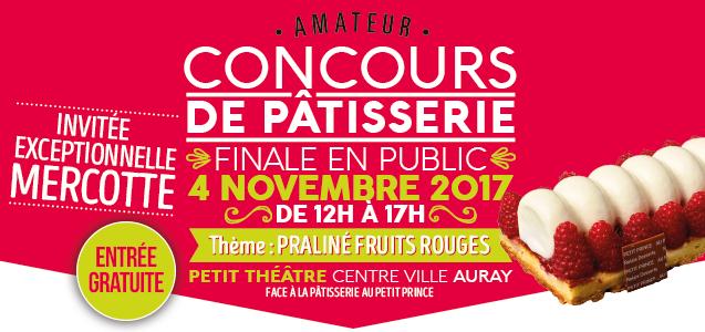 CONCOURS DE PATISSERIE AMATEUR 2017